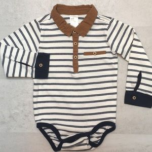 H&M striped onesie